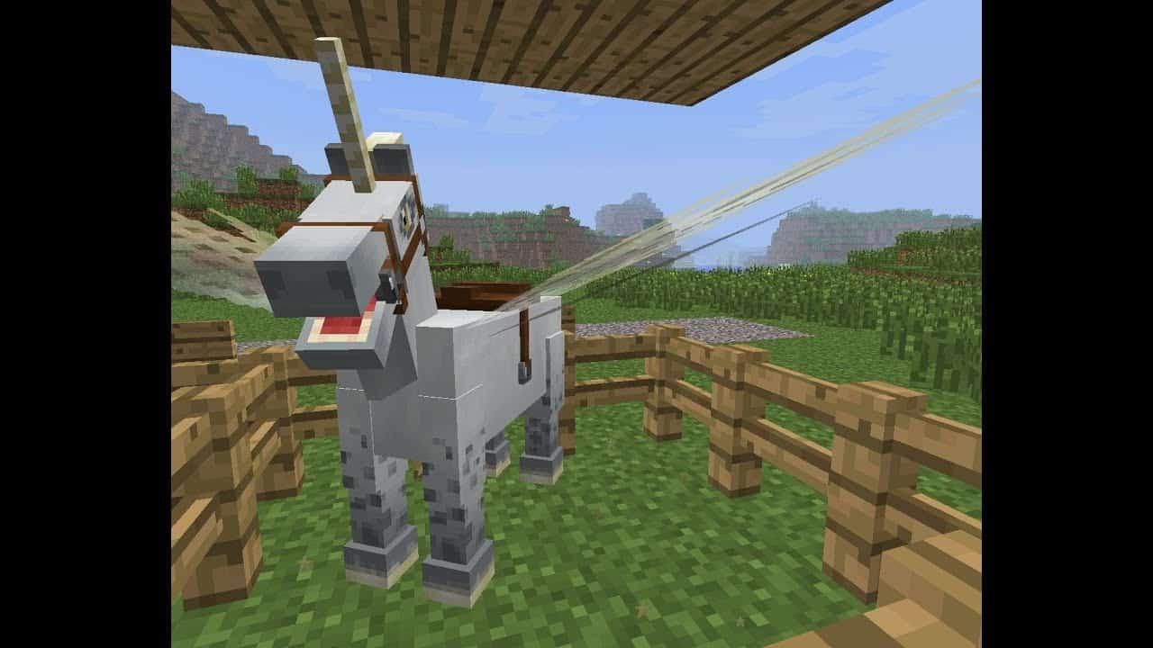 unicorn Best minecraft horse
