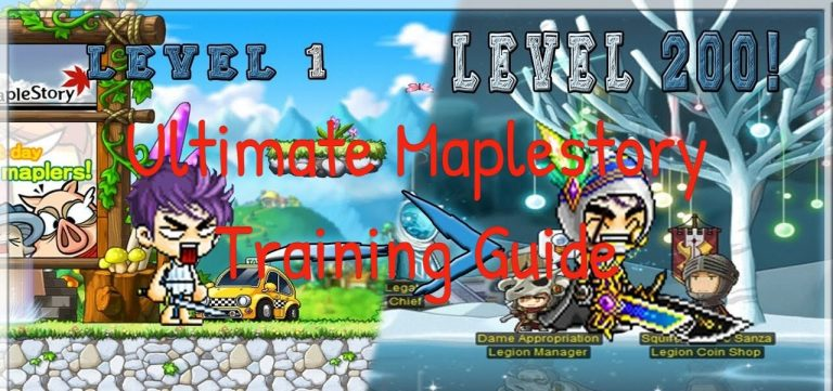 maplestory training guide